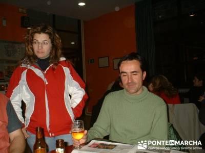Esquí Baqueira - amistad; bola del mundo madrid; ruta la pedriza